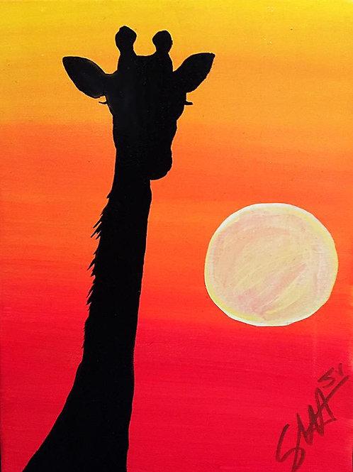 """Giraffe Look"""