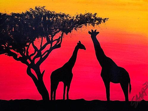 """""""Giraffe Family"""""""