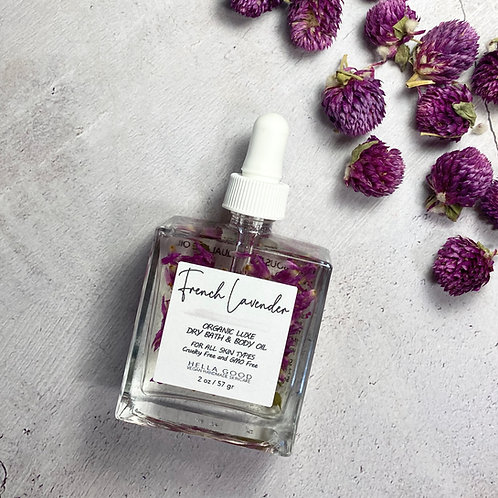 French Lavender - Luxe Dry Bath + Body Oil