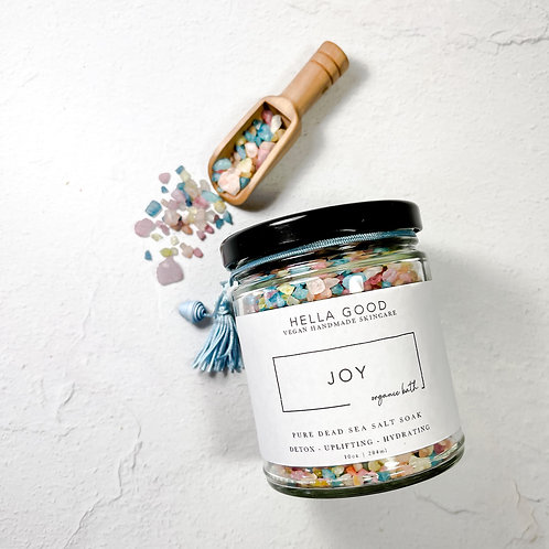 Joy - Pure Dead Sea Salt Bath Soak