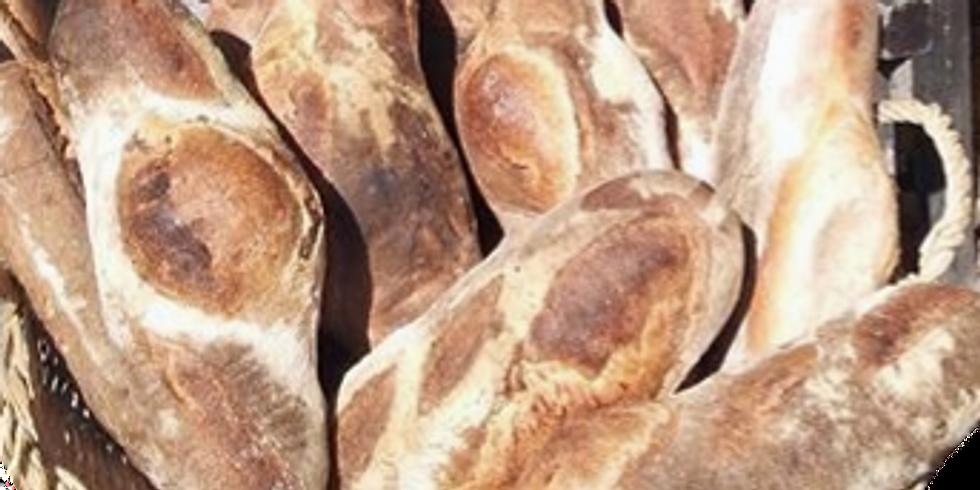 Cuisson du pain  et de la brioche au four à bois à l'ancienne  (1) vente de vin de Touraine  de 10h à 12h (3)