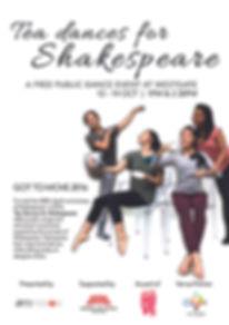 Tea Dances for Shakespeare