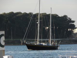 Rencontre avec un voilier de voyage à Lorient
