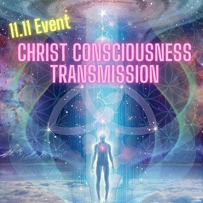 11.11 Christ Consciousness Transmission (Group/Nov 11)