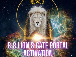 8.8 Lion's Gate Portal Activation (Live Replay)