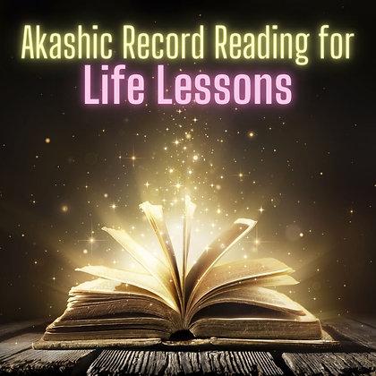 Life Lessons Reading (bonus Chakra Reading)