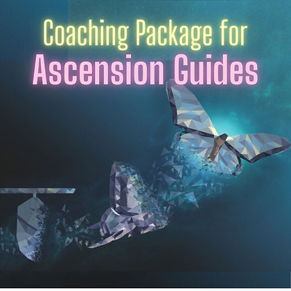 Ascension Guides Coaching Package (bonus clearing/healing)