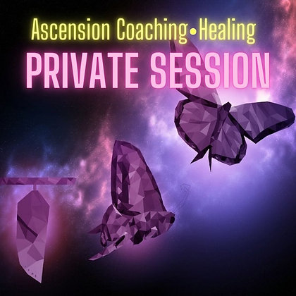 Ascension Coaching / Healing Private Session