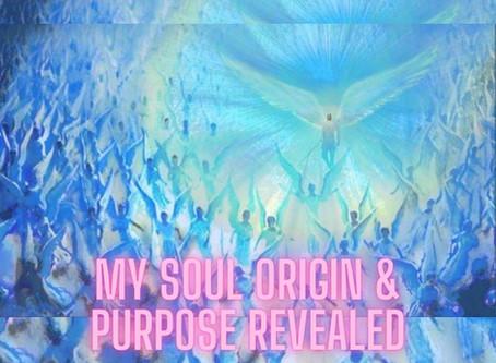 My Soul Origin & Purpose Revealed