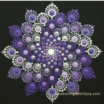 """Transformation"" Mandala (with bonus Diamonds)"