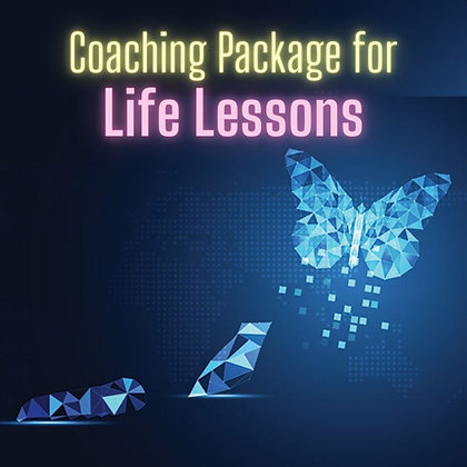Life Lessons Coaching Package (bonus clearing/healing)
