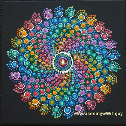 """Abundance"" Mandala (with bonus Diamonds)"
