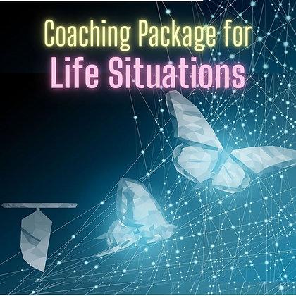 Life Situations Coaching Package (bonus clearing/healing)