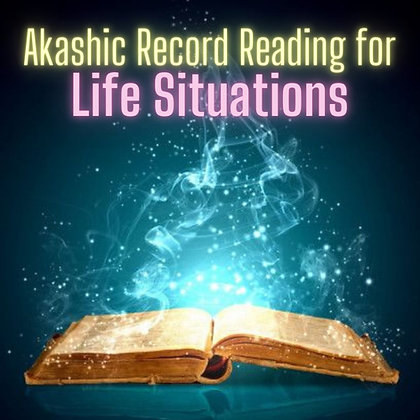 Life Situations Reading (bonus Chakra Reading)