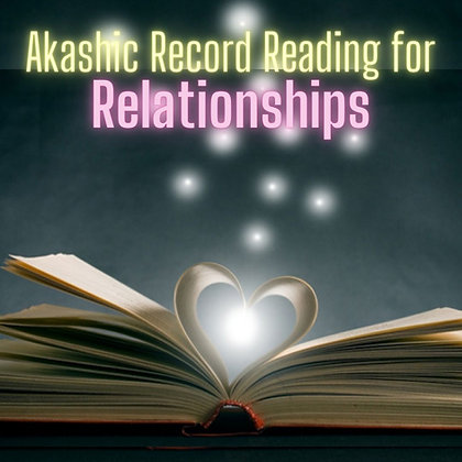 Relationships Reading (bonus Chakra Reading)