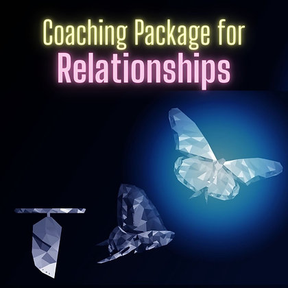 Relationships Coaching Package (bonus clearing/healing)