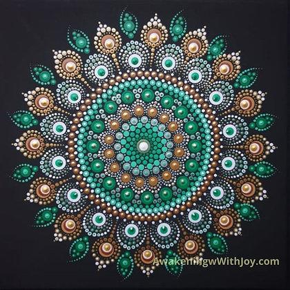 """Faith"" Mandala (with bonus Diamonds)"