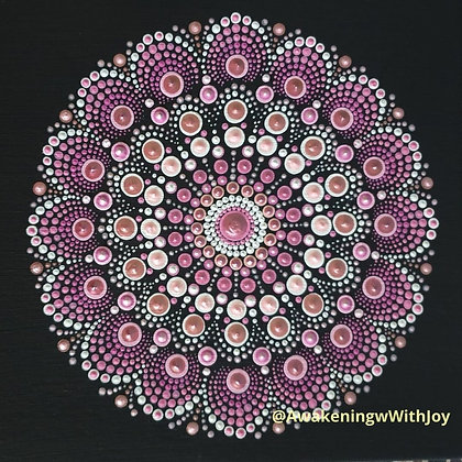 """Love"" Mandala (with bonus Diamonds)"