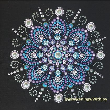 """Peace"" Mandala (with bonus Diamonds)"