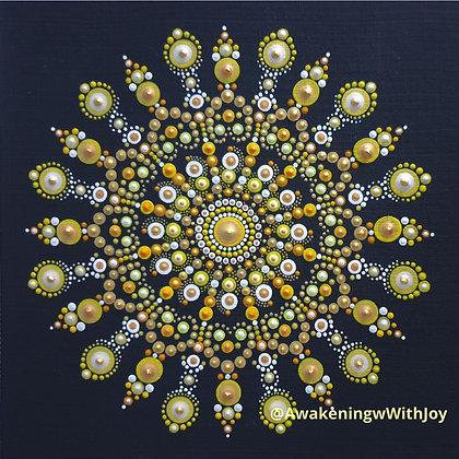"""Joy"" Mandala (with bonus Diamonds)"