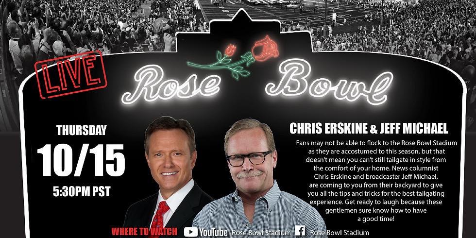 Chris Erskine & Jeff Michael - Rose Bowl LIVE