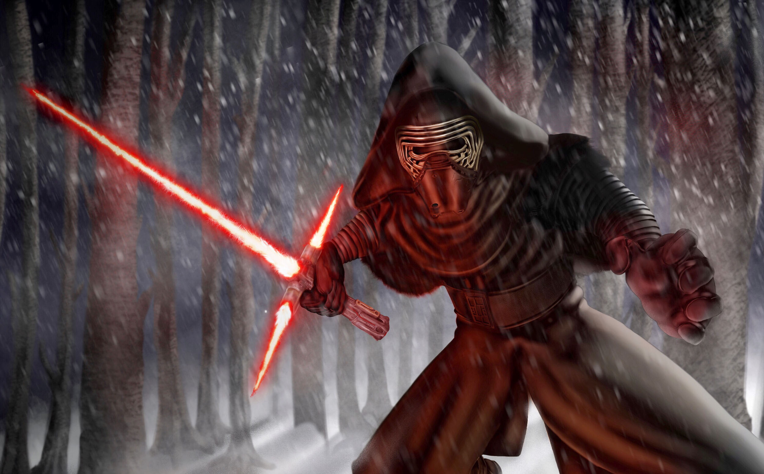 Kylo Ren Digital Painting
