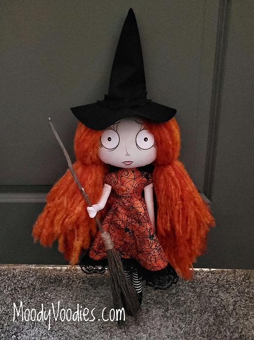 "18"" Handmade Witch Doll ""Sadie"""