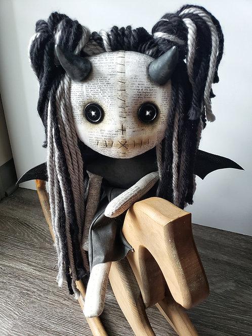 """16"""" Handmade Demon Girl"""