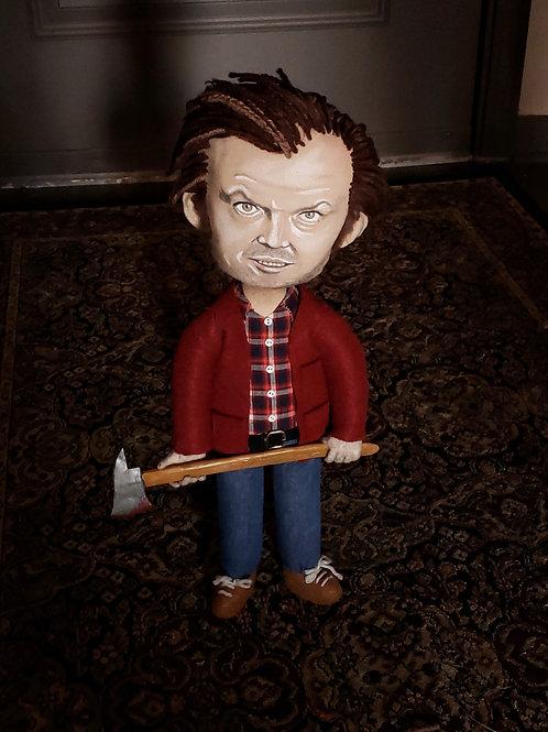 "19"" Handmade Jack Torrance Doll"
