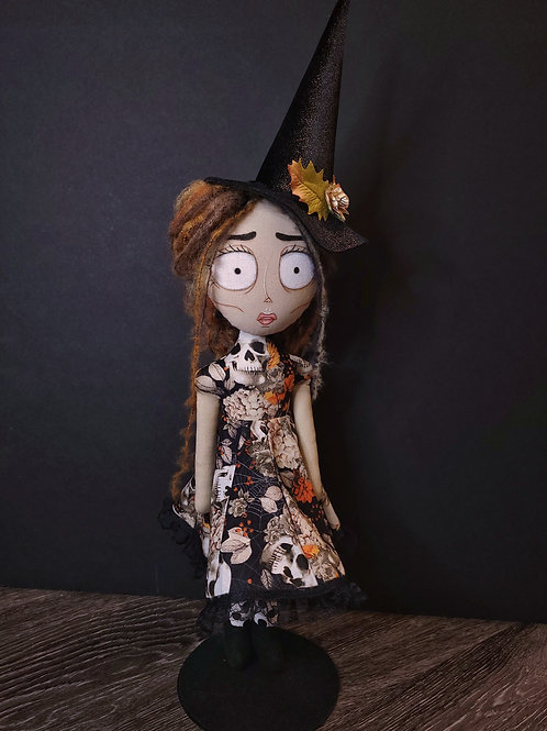 """18"""" Handmade Witch Doll"""