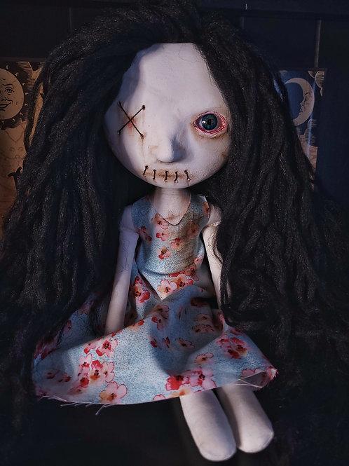 "18"" Handmade Moody I.C.U Doll"