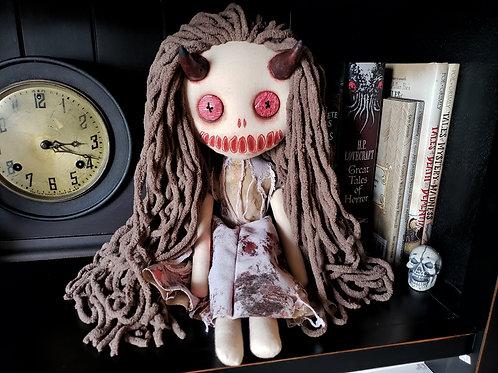 "16"" Handmade Devil Doll"