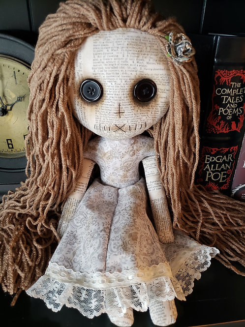 "16"" Grungy Doll - White"