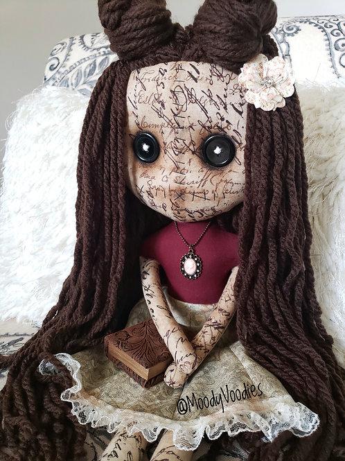 "16"" Handmade Bookworm Doll"