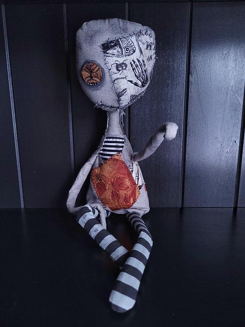 """19"""" Handmade 'Tood Voodoo Doll (Bro fist)"""
