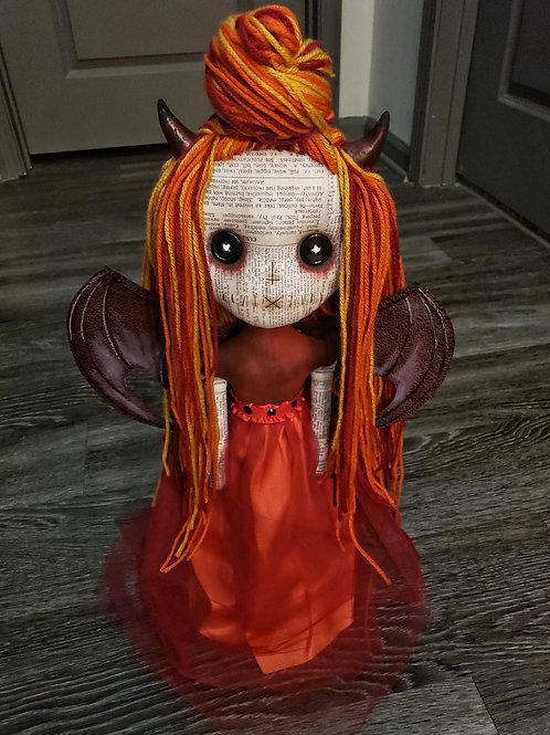 """21"""" Handmade 'Hell's Belle' Doll"""