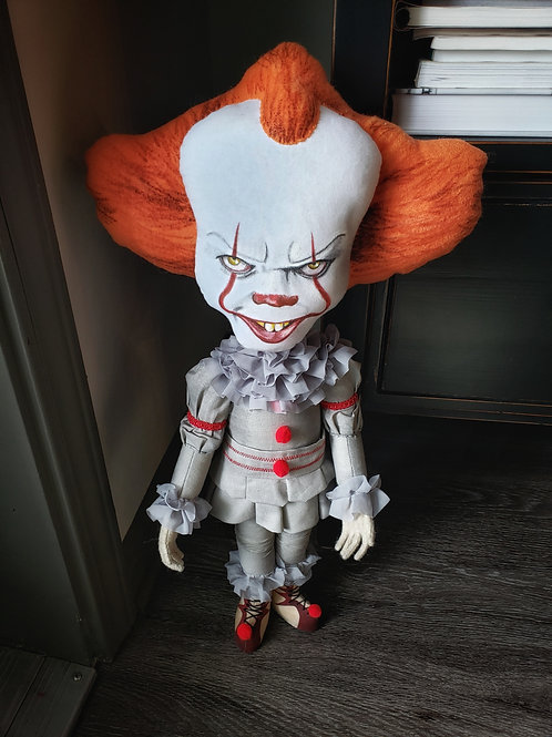 """21.5"""" Handmade Pennywise Doll"""