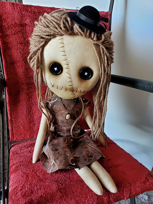 "16"" Handmade Grungy-Fancy Doll"