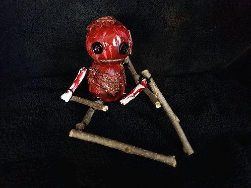 """4"""" Handmade Bloody Voodoo Doll"""