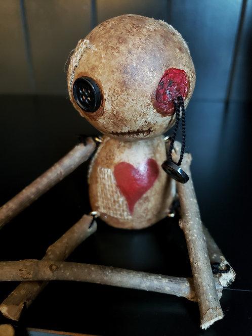 """4"""" Handmade Voodoo Doll 'Paul'"""