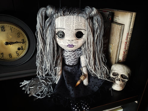 """16"""" Handmade Vampire Doll with Stake Keychain"""