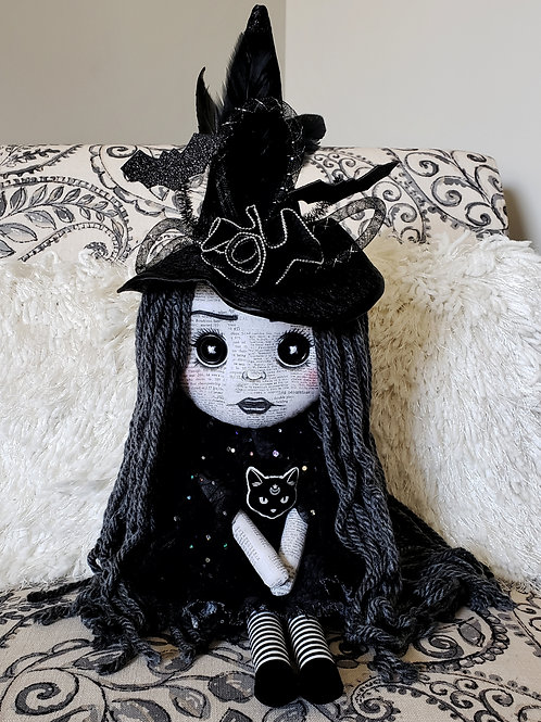"""16"""" Handmade Witch Doll"""