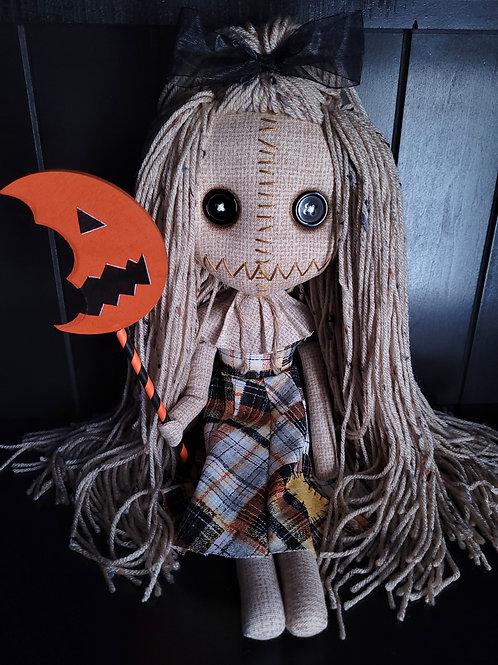 "18"" Handmade Samantha Doll with Lollipop"