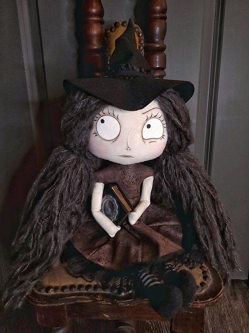 """18"""" Handmade Witch Doll """"Saffi"""""""