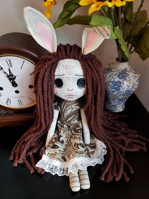 "16"" Handmade Bunny Girl"