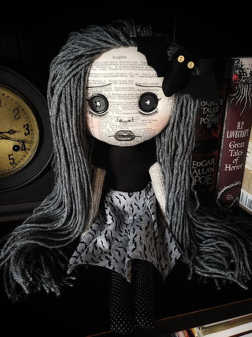 "16"" Handmade ""Batty"" Doll"