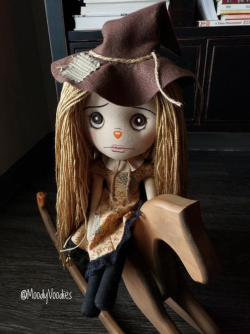 "16"" Handmade Scarecrow Doll"