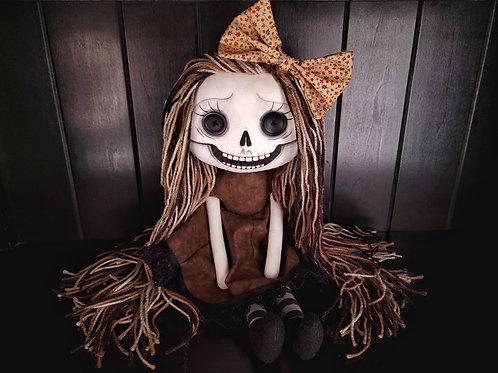 """18"""" Handmade Skeleton Girl """"Maeve"""""""