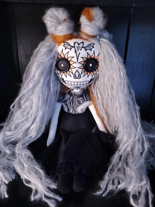 """18"""" Handmade MV Sugar Skull"""