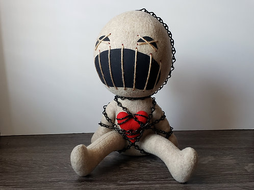 "12"" Handmade ""Clive"" Doll"